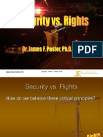 Security vs. Rights