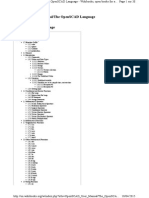 OpenSCAD User Manual-language