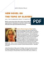 NEW NOVEL ON THE TOPIC OF SLAVERY