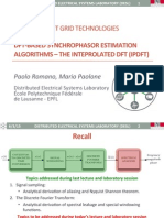 Course SGT 3 - DFT-based Synchrophasor Estimation Algorithms - IpDFT Rev2