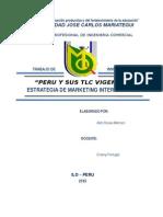 Peru y Sus Tlc Vigentes