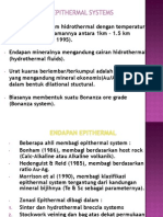 3.Endapan Epithermal Sistem