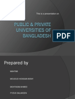 Public & Private Uni of Bd by Mahir