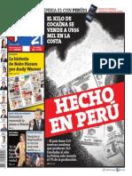 20150502 Peru21 Dia del Cómic