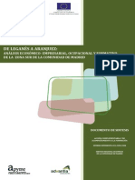 Documento Sintesis Evaluacion Sociolaboral, Educativa y Otras Model Europeo