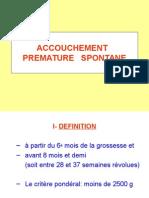 ACCOUCHEMENT   PREMATURE   SPONTANE.ppt