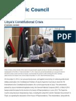 Libyas Constitutional Crisis - Atlantic Council