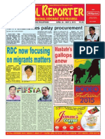 Bikol Reporter April 26 - May 2 Issue