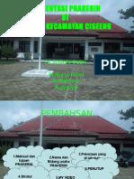 Presentasi Praktek Kerja Lapangan PKL