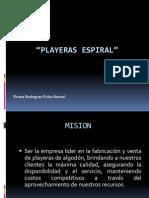 PLAYERAS ESPIRAL
