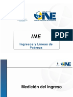 Presentación INE Indice de Pobreza