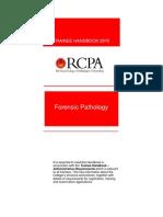 Forensic Pathology Trainee Handbook 2015