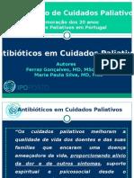 Antibioticos em Cuidados Paliativos. Avaliação retrospectiva