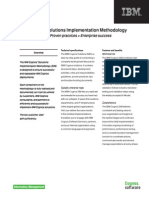 Fs Ibm Cognos Solutions Implementation Methodology