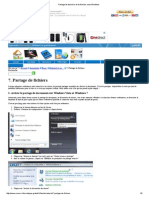 Partage de Dossiers Et de Fichiers Sous Windows