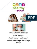 Timely Health Check