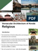 Religious Vernacular Architecture of Kerala