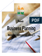 Business Planning- R1