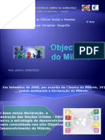 Objectivos  do Milénio