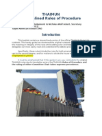 thaimun iii streamlined rules
