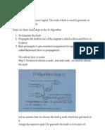 D Algorithm Notes