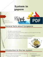 Tax System in Syngapore
