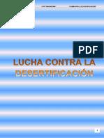 Lucha Desertificacion.