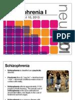 11. Schizophrenia I