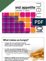 16. Eating & Appetite