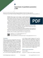 Biological Basis of DTI