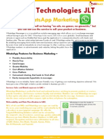 WhatsApp Marketing Overview