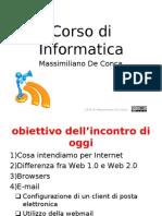 Corso Di a - Internet
