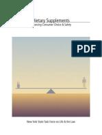 Articol Dietary Supplement Safety