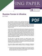 201503 BP Russian Forces in Ukraine FINAL