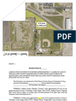 Proposed open space at the Gallatin County fairgrounds