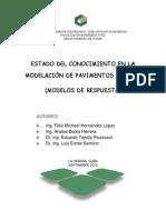 Estado Del Conocimiento en La Modelación de Pavimentos Rígidos (Modelos de Respuesta)