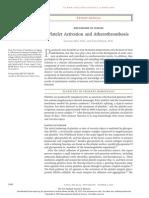 Activacion de Plaquetas y Arterotrombosis
