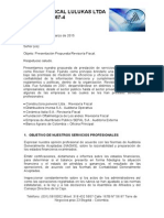 Revisión Fiscal Lulukas Ltda