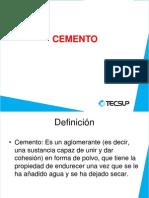Elaboración de cemento
