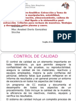 T 2 Control Pre Analítico AGS