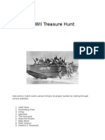 treasure hunt ww2