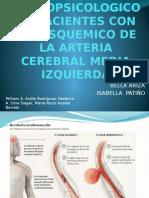 Perfil Neuropsicologico en Pacientes Con Acv Isquemico De