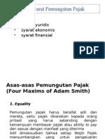 Hukum Pajak 13 April 2015