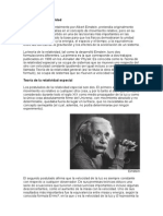 La Teoría de La Relatividad