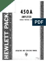 Hp 450a Manual Sn 010