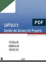 5. Gestión del Alcance del Proyecto - EGP+UNI