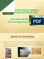 Seguranca Com Escadas Rampas Passarelas Construcao Civil