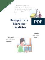 Desequilibrio Hidroeleclectrolitico