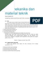 Ilmu Mekanika Dan Material Teknik