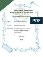 CAPACIDAD FERMENTATIVA DE LEVADURA